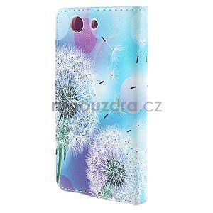 Pouzdro na mobil Sony Xperia Z3 Compact - odkvetlé pampelišky - 3