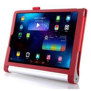 Ochranné pouzdro na Lenovo Yoga Tablet 2 10.1 - červené - 3