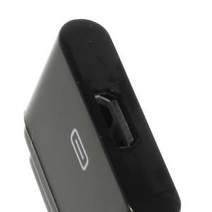 Redukce z magnetického nabíjení na micro USB pro telefony Sony - černá - 3