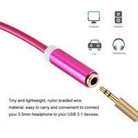 Prince redukce USB Typ-C na audio jack 3.5 mm - rose - 3/3