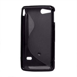 Gelové S-line pouzdro na Sony Xperia Go- černé - 3