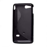 Gelové S-line pouzdro na Sony Xperia Go- černé - 3/3