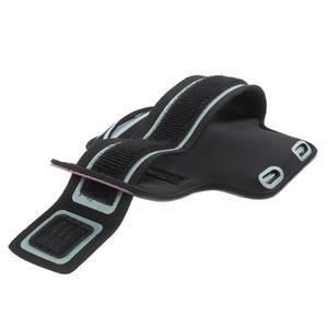 Fittsport pouzdro na ruku pro mobil do rozměrů 143.4 x 70,5 x 6,8 mm - fialové - 3