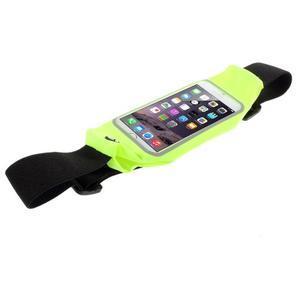 Sportovní kapsička přes pas na mobily do rozměrů 149 x 75 mm - zelené - 3