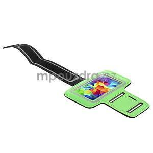 Run běžecké pouzdro na mobil do velikosti 131 x 65 mm - zelené - 3