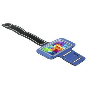 Run běžecké pouzdro na mobil do velikosti 131 x 65 mm - modré - 3