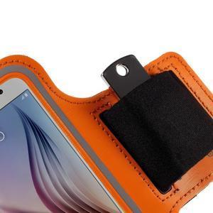 Gyms pouzdro na běhání pro mobily do 143 x 70 mm - oranžové - 3