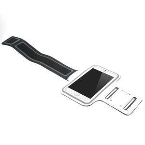Gymfit sportovní pouzdro pro telefon do 125 x 60 mm - bílé - 3