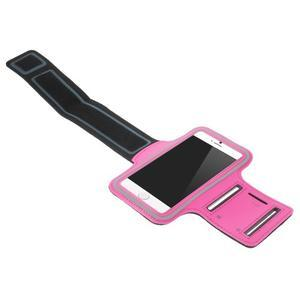 Gymfit sportovní pouzdro pro telefon do 125 x 60 mm - rose - 3