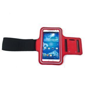 Červený sportovní obal na mobil do velikosti 145 x 75 mm - 3