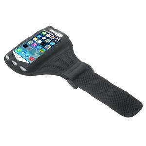 Absorb sportovní pouzdro na telefon do velikosti 125 x 60 mm - černé - 3