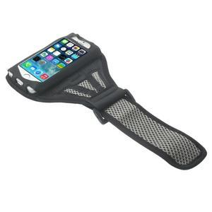 Absorb sportovní pouzdro na telefon do velikosti 125 x 60 mm - šedé - 3