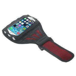 Absorb sportovní pouzdro na telefon do velikosti 125 x 60 mm - červené - 3