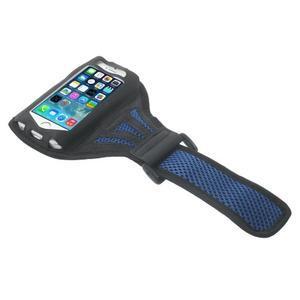 Absorb sportovní pouzdro na telefon do velikosti 125 x 60 mm - modré - 3