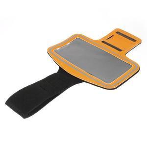 Soft pouzdro na mobil vhodné pro telefony do 160 x 85 mm - žluté - 3