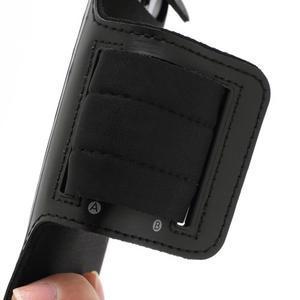 Sportovní pouzdro na ruku až do velikosti mobilu 140 x 70 mm - černé - 3