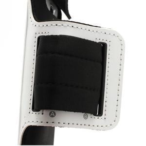 Sportovní pouzdro na ruku až do velikosti mobilu 140 x 70 mm - bílé - 3