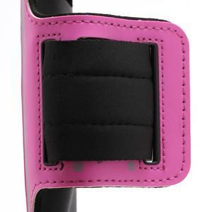 Sportovní pouzdro na ruku až do velikosti mobilu 140 x 70 mm - rose - 3