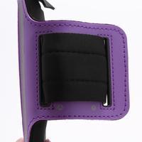 Sportovní pouzdro na ruku až do velikosti mobilu 140 x 70 mm - fialové - 3/6