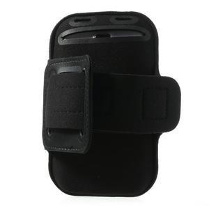 FitGym pouzdro na ruku pro telefon až do velikosti 145 x 73 mm - černé - 3