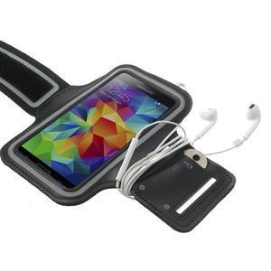Fitsport pouzdro na ruku pro mobil do velikosti až 145 x 73 mm - černé - 3