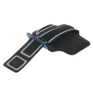 Fitsport pouzdro na ruku pro mobil do velikosti až 145 x 73 mm - tmavěmodré - 3