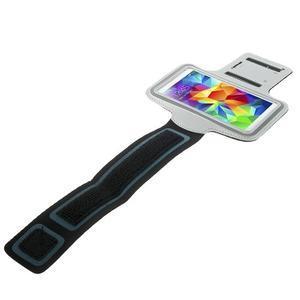 Fitsport pouzdro na ruku pro mobil do velikosti až 145 x 73 mm - šedé - 3
