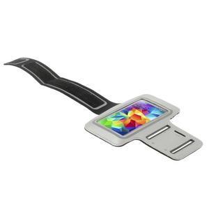 Run běžecké pouzdro na mobil do velikosti 131 x 65 mm - šedé - 3