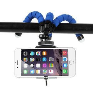 Trojnožkový stativ pro mobilní telefony - modrý - 3