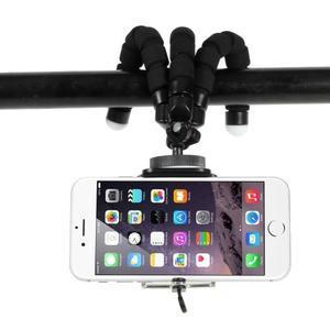 Trojnožkový stativ pro mobilní telefony - černý - 3