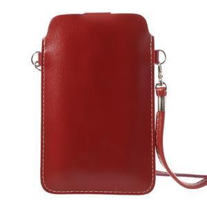Univerzální pouzdro/kapsička na mobil do rozměru 180 x 110 mm - červené - 3