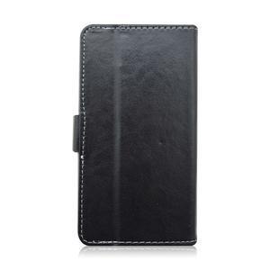 Univerzální peněženkové pouzdro do 159 x 79 mm - černé - 3