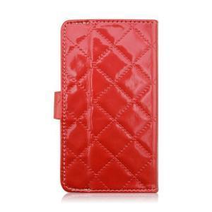 Luxury univerzální pouzdro na mobil do 148 x 76 x 21 mm - červené - 3