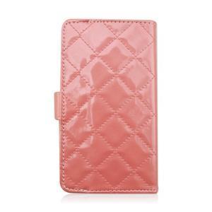 Luxury univerzální pouzdro na mobil do 148 x 76 x 21 mm - růžové - 3
