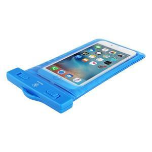 Base IPX8 vodotěsný obal na mobil do 158 x 78 mm - modrý - 3