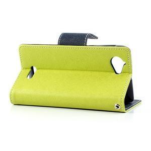 Mr. Fancy peněženkové pouzdro pro Sony Xperia L - zelené - 3