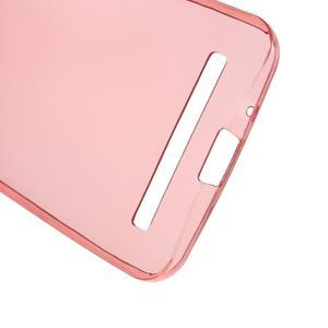 Ultra tenký slim gelový obal na Asus Zenfone 2 ZE500CL - červený - 3