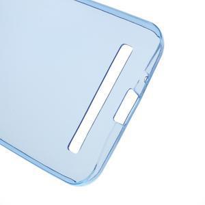Ultra tenký slim gelový obal na Asus Zenfone 2 ZE500CL - modrý - 3