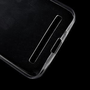 Ultra tenký slim gelový obal na Asus Zenfone 2 ZE500CL - transparentní - 3
