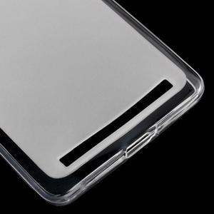 Matný gelový obal na mobil Lenovo K5 Note - transparentní - 4