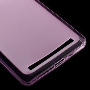 Matný gelový obal na mobil Lenovo K5 Note - růžový - 4