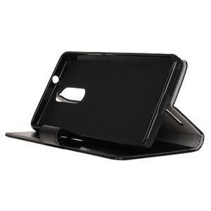 Horse PU kožené pouzdro na mobil Lenovo K5 Note - černé - 4