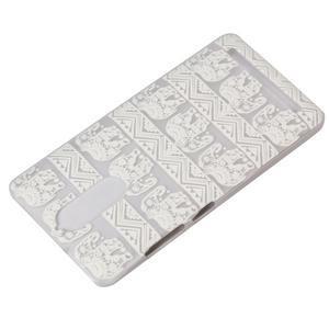 Plastový obal na mobil Lenovo K5 Note - sloni - 4