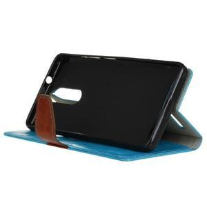 Colory knížkové pouzdro na Lenovo K5 Note - modré - 4