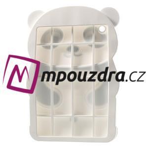 3D Silikonové pouzdro na iPad mini 2 - černá panda - 4