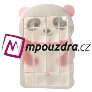 3D Silikonové pouzdro na iPad mini 2 - růžová panda - 4