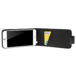 PU kožené flipové pouzdro na iPhone 6, 4.7 - černé - 4/7