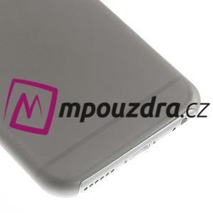 Ultra slim 0.3 mm plastové pouzdro na iPhone 6, 4.7  - šedé - 4