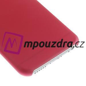 Ultra slim 0.3 mm plastové pouzdro na iPhone 6, 4.7  - červené - 4