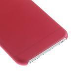 Ultra slim 0.3 mm plastové pouzdro na iPhone 6, 4.7  - červené - 4/5